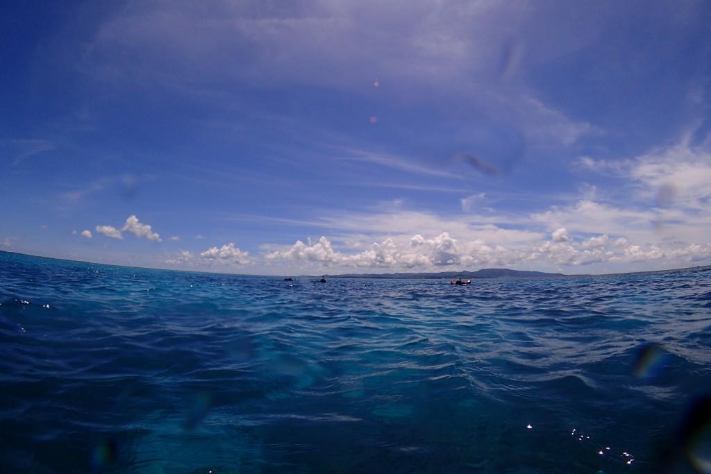 こんな感じの海でのんびり楽しめます♪