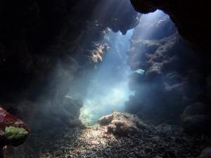 光の洞窟にご案内~(^^♪